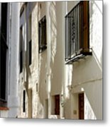 Closed Streets Metal Print