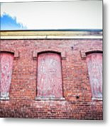 Closed Windows Metal Print