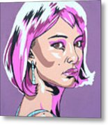Closer To Natalie Metal Print