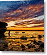 Closing Colors Metal Print