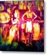 Closing Time At The Sly Grog Club Metal Print