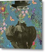 Clothed, Because You Are Watching Me. Metal Print