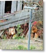 Clothes Line The Real Deal Metal Print