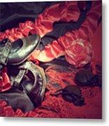 Clothing For Flamenco Metal Print