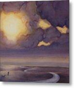 Cloud Break On The Northern Plains II Metal Print