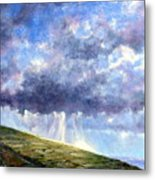 Cloud Burst Ireland Metal Print