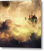 Cloud Castle Metal Print