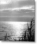 Cloud Circle Over Lake Pontchartrain Metal Print