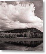 Cloud Cover Metal Print