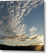Cloud Dancing Metal Print