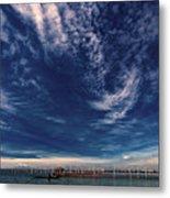 Cloud Formation Metal Print