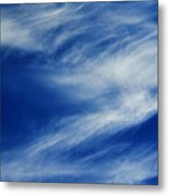 Cloud Formations Metal Print