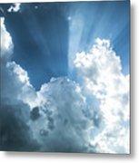 Cloud Light  Metal Print