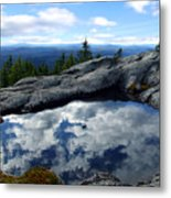 Cloud Pool On Borestone Mountain Metal Print