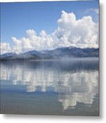Cloud Reflection On Priest Lake Metal Print