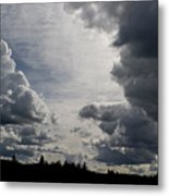 Cloud Study 2 Metal Print