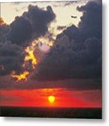 Cloud Woofie Metal Print