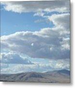 Cloudbreaks Over Rattlesnake Metal Print