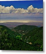 Cloudcroft Canyon View Metal Print
