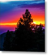 Cloudcroft Sunset Metal Print