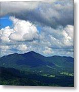 Clouded Landscape Metal Print