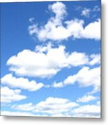 Clouded Sky Metal Print