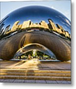 Cloudgate In Chicago Metal Print