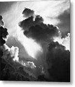 Clouds-1- St Lucia Metal Print