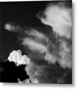 Clouds-4- St Lucia Metal Print