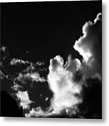 Clouds-5- St Lucia Metal Print