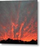 Clouds 64 Metal Print
