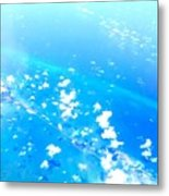 Clouds Above The Florida Keys Metal Print