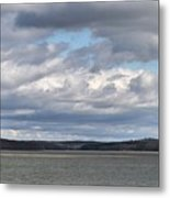 Clouds After The Storm Metal Print