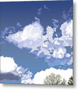 Blue Afternoon Metal Print