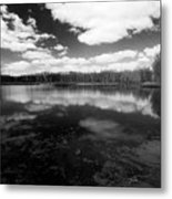 Clouds And Water Metal Print