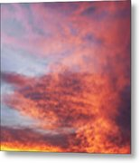 Clouds At Dawn Metal Print
