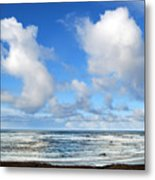Clouds At Play Metal Print