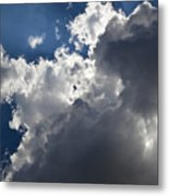 Clouds Before A Thunderstorm Metal Print