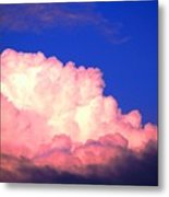 Clouds In Mystical Sky Metal Print