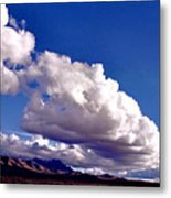 Clouds Marching Metal Print