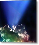 Clouds Of Faith Metal Print