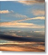 Clouds Of Natural Art Metal Print