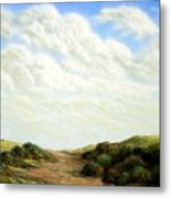 Clouds Of Spring Metal Print