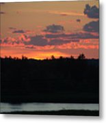Clouds On Fire - Thousand Island Sunset -  Metal Print