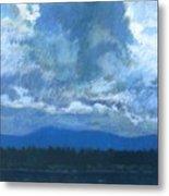 Clouds On The Kootenai Metal Print