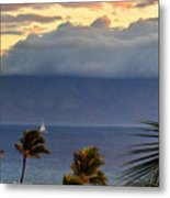 Clouds On The Mountain Top Metal Print