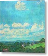 Clouds Over Fairlawn Metal Print