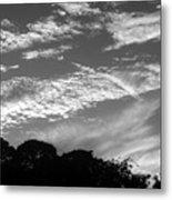 Clouds Over Florida Metal Print