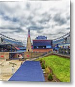 Clouds Over Gillette Stadium Metal Print