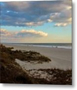 Clouds Over Holden Beach Metal Print